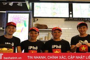 Chàng 'lơ' xe Hà Tĩnh thành ông chủ chuỗi cửa hàng đồ ăn nhanh thuần Việt ở Nga