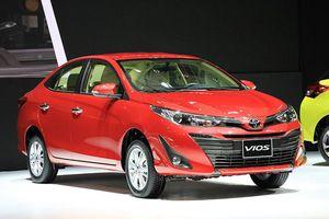 Cập nhật bảng giá xe Toyota tháng 9/2018