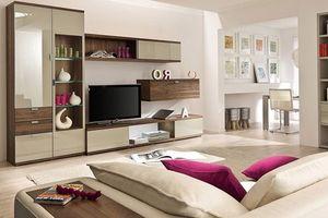 Cách trang trí phòng khách bằng màu be vừa tươi sáng vừa sang trọng