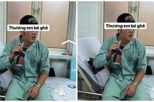 Fan khóc ngất khi nhìn thấy hình ảnh đầu tiên của Xuân Trường sau phẫu thuật cuống mũi