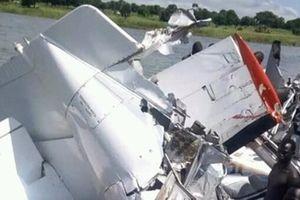 Máy bay chở khách rơi ở Nam Sudan, 21 người chết