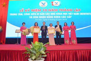 Kỷ niệm 10 năm thành lập Trung tâm, Công viên di sản các nhà khoa học Việt Nam