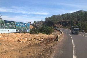 Bình Định: Quốc lộ 1D đang bị nhiều khu resort 'mở đường lậu', lấn chiếm hành lang an toàn đường bộ