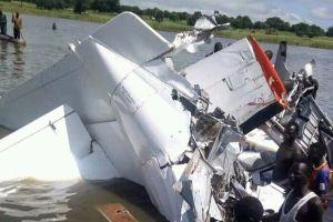Máy bay lao xuống sông ở Nam Sudan, 17 người thiệt mạng