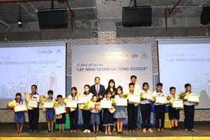 Lập trình Tương lai cùng Google: trao cơ hội lập trình sáng tạo cho trẻ em