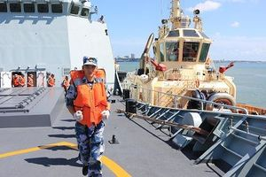 Trung Quốc lần đầu tiên tham gia cuộc tập trận trên biển lớn nhất của Australia