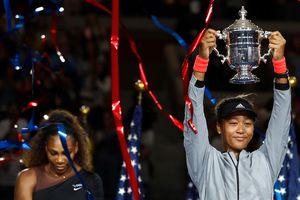 Naomi Osaka gây ngỡ ngàng khi 'đè bẹp' Serena Williams giành Grand Slams Mỹ mở rộng