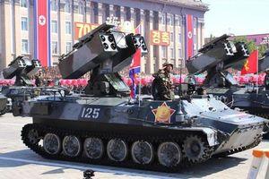 Nhìn lại video toàn cảnh Triều Tiên duyệt binh hoành tráng mừng Quốc khánh
