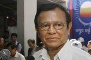 Cựu Chủ tịch đảng Cứu nguy Dân tộc Campuchia được tại ngoại