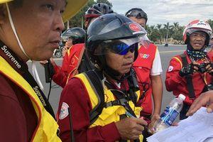 Tước quyền 4 tay đua ngay vạch xuất phát Cúp Tôn Hoa Sen 2018