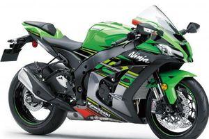 Siêu môtô Kawasaki Ninja ZX-10R 2019 mạnh tới 204 mã lực
