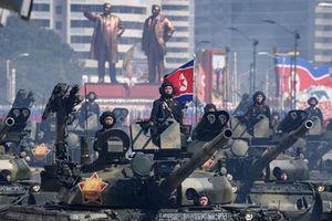 Ngắm kho xe tăng 'đồ sộ' của Quân đội Triều Tiên