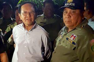 Campuchia thả lãnh đạo đối lập Kem Sokha