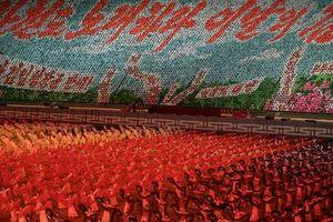 Show đồng diễn lớn nhất thế giới tái hiện ở Triều Tiên