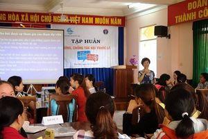 Đắk Lắk. Nhiều hoạt động tuyên truyền về Phòng, chống tác hại thuốc lá