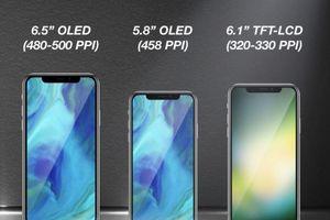 Lộ giá bán và tên chính thức của bộ 3 iPhone 2018