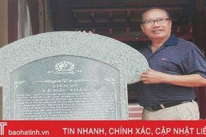 Ruộng tiền đò và chuyện trả ơn của cậu học trò nghèo Hà Tĩnh