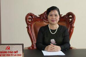Lai Châu chính thức có nữ Bí thư tỉnh ủy mới