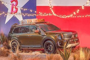 KIA 'vén màn' SUV cỡ lớn Telluride 2020, cạnh tranh Ford Explorer