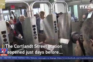 New York mở lại ga tàu điện ngầm sau vụ 11/9