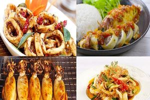 Các món ăn ngon từ mực tươi bạn không nên bỏ qua