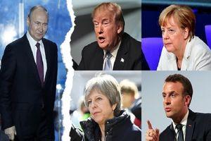 Đức sẽ bắt tay cùng Mỹ, Anh, Pháp 'giáng đòn sấm sét' lên Syria?