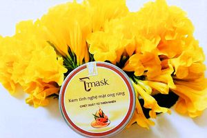 Kem tinh nghệ mật ong rừng Tmask: Sản phẩm kết tinh từ thiên nhiên và niềm đam mê