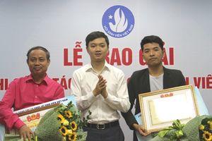 Trao giải Cuộc thi Sáng tác ca khúc về sinh viên Việt Nam