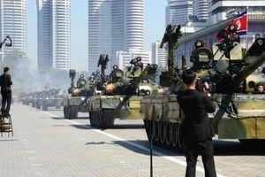 Lễ diễu binh lần thứ 70 Quốc khánh Triều Tiên không có tên lửa đạn đạo