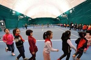 Trung Quốc tạo phòng khí khổng lồ cho học sinh tránh ô nhiễm