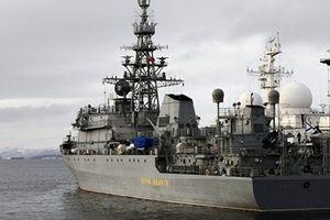 Tàu trinh sát Nga đến Địa Trung Hải giúp Syria đánh chặn tên lửa