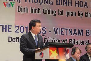 Doanh nghiệp Việt Nam và Hoa Kỳ thảo luận phương thức hợp tác