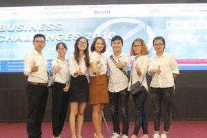 Cuộc thi khởi nghiệp Business Challenges 2018: Sôi nổi vòng gọi vốn