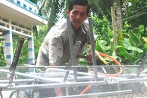 Máy diệt rầy 'của chung' của ông Hai Thuận