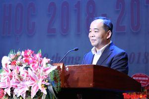 Trường Đại học Sân khấu – Điện ảnh Hà Nội khai giảng năm học mới 2018 – 2019