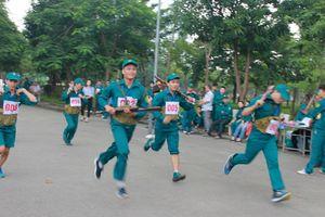 Khai mạc Hội thao quốc phòng lực lượng dân quân tự vệ quận Cầu Giấy