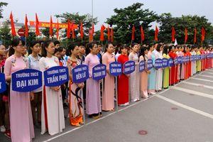 Hoàng Mai: Gần 500 vận động viên tham gia giải chạy Báo Hànôịmới năm 2018