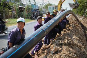 Hà Nội: Cho phép thi công tuyến ống cấp nước sạch qua sông Nhuệ ở Nam Từ Liêm