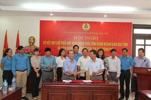 LĐLĐ tỉnh Quảng Trị: Tạo điều kiện cho CĐCS các trường học hoạt động hiệu quả