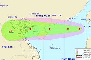 Hình thành cơn bão số 5 trên Biển Đông