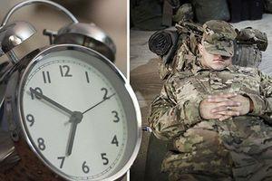 Tham khảo bí quyết ngủ ngon lành trong 2 phút của lính Mỹ