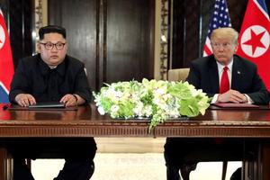 Mỹ đang thảo luận về cuộc gặp thượng đỉnh với Triều Tiên