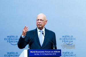Chủ tịch WEF: Phải nỗ lực để nắm bắt những cơ hội lớn mà cách mạng công nghệ 4.0 đem lại