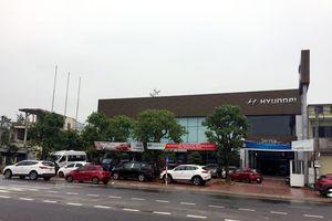 Đại lý ô tô Hyundai Hà Tĩnh 'biến' nghĩa trang thành bãi đậu xe