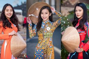 Ngắm nhan sắc nữ du học sinh Việt hội tụ thi Hoa khôi tại Úc