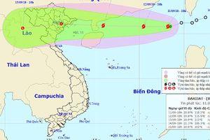 Bão giật cấp 11 hoành hành biển Đông