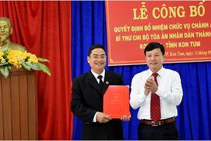 Trao quyết định bổ nhiệm Chánh án TAND TP. Kon Tum