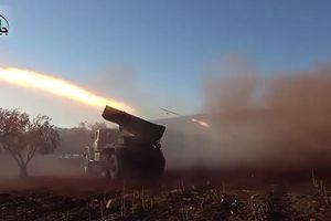 Phiến quân Syria bất ngờ phản công, phóng tên lửa vào sân bay quân sự Hama