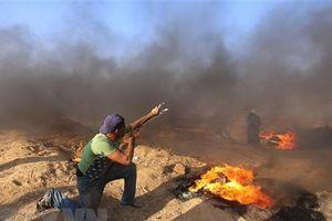 Binh sỹ Israel nổ súng vào người biểu tình Palestine tại bờ biển Gaza
