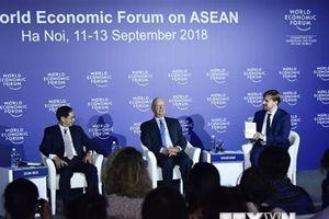 Khai mạc Diễn đàn kinh tế thế giới về ASEAN 2018